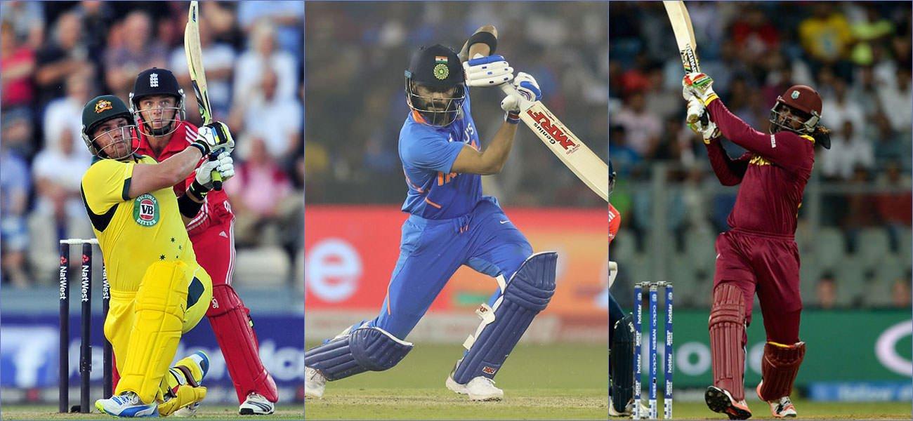 Best T20I Batsmen Featured