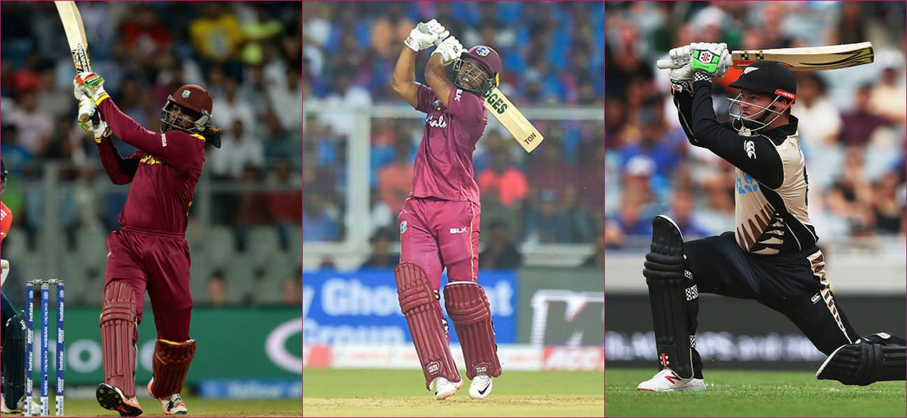 T20Is Top 10 Six Hitters Featured